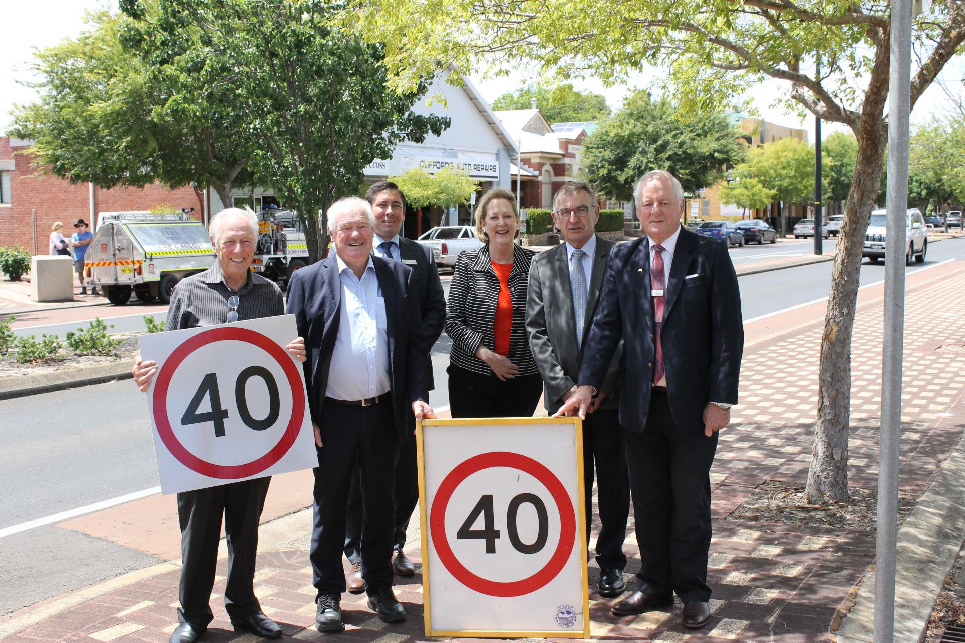 MEDIA RELEASE: Motorists encouraged to stay safe as speed limit reduced.