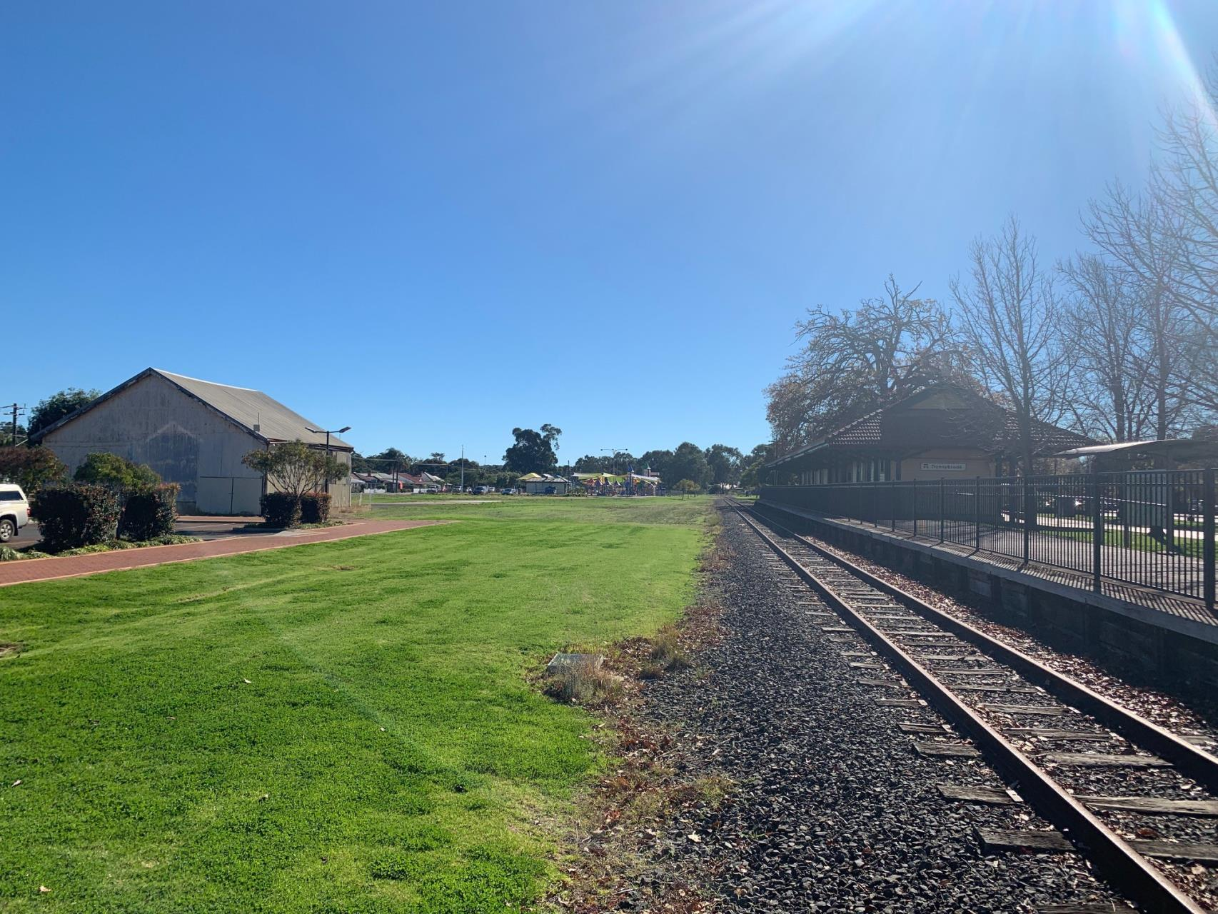 Renewal of goods shed at the core of town revitalisation
