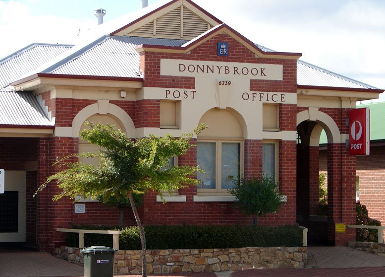 MESSAGE FROM DONNYBROOK POST OFFICE